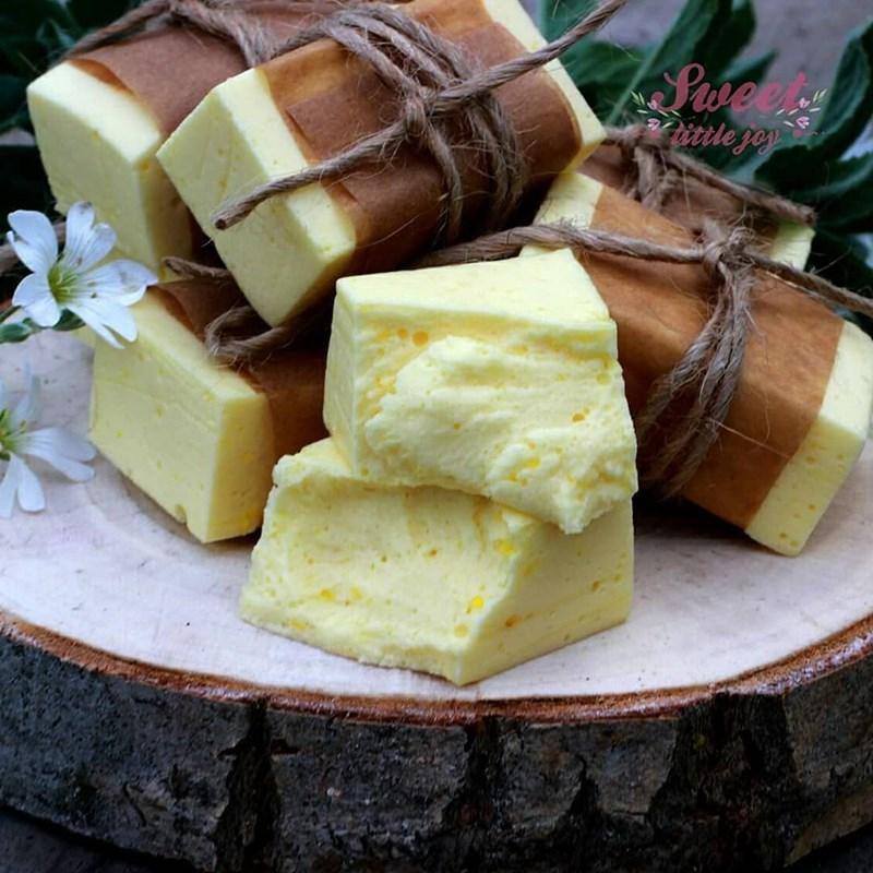 Lemon curd-based souffle-2