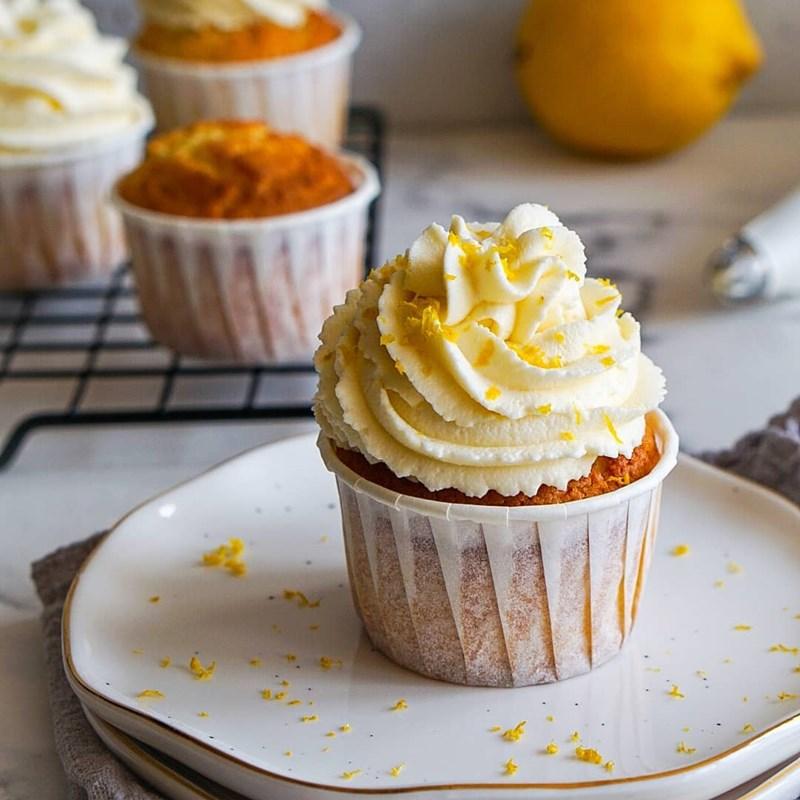 Lemon cupcakes-2