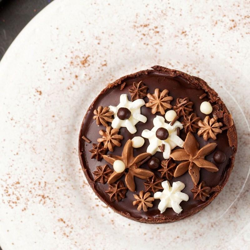 Chocolate cheesecake-3