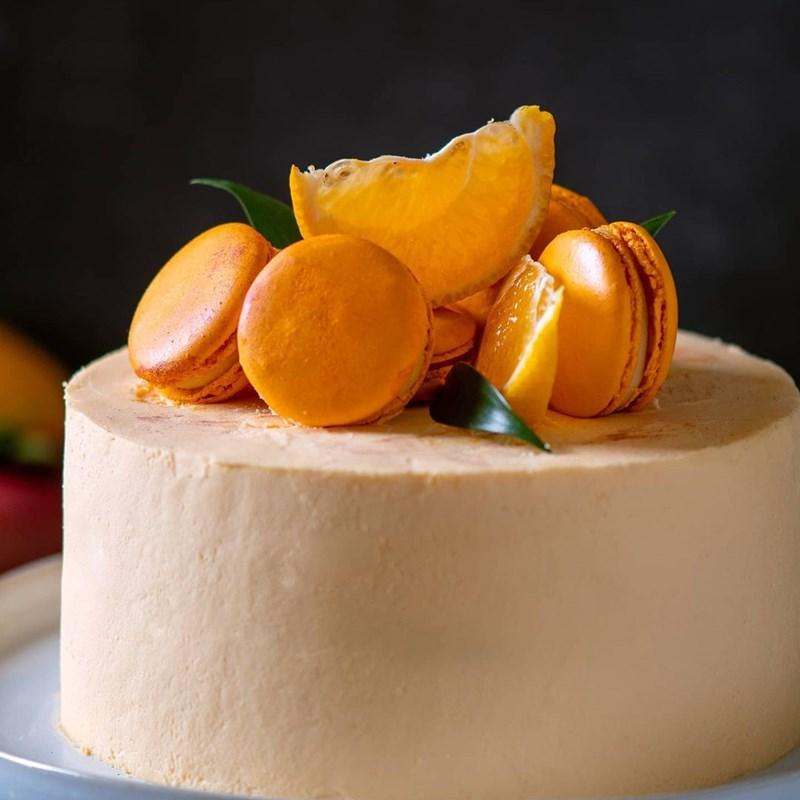 ORANGE & MANGO CAKE-2