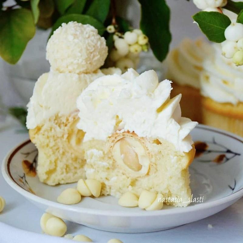 Raffaello cupcakes-5