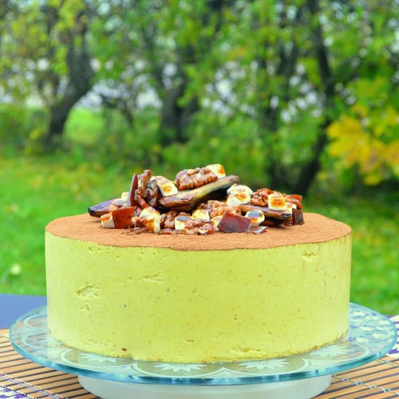 BANANA MOUSSE CAKE-3