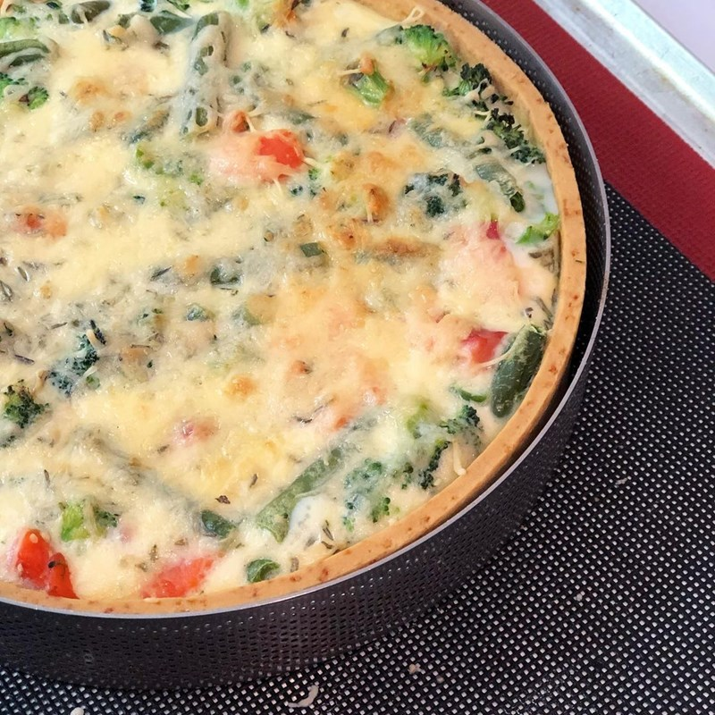 FISH QUICHE WITH VEGETABLES-3