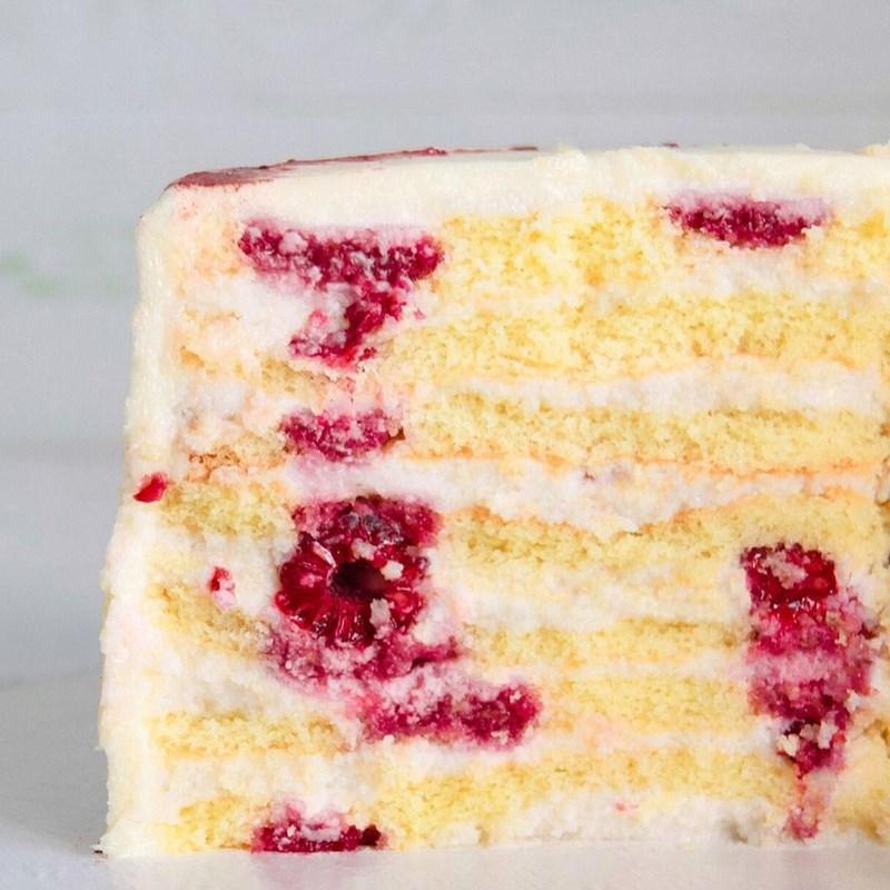 Raspberry Bliss cake-2