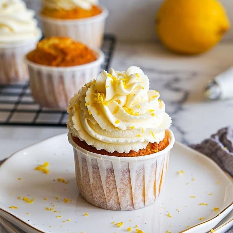Lemon cupcakes-3