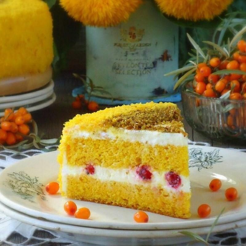 AUTUMN SEA BUCKTHORN CAKE-2
