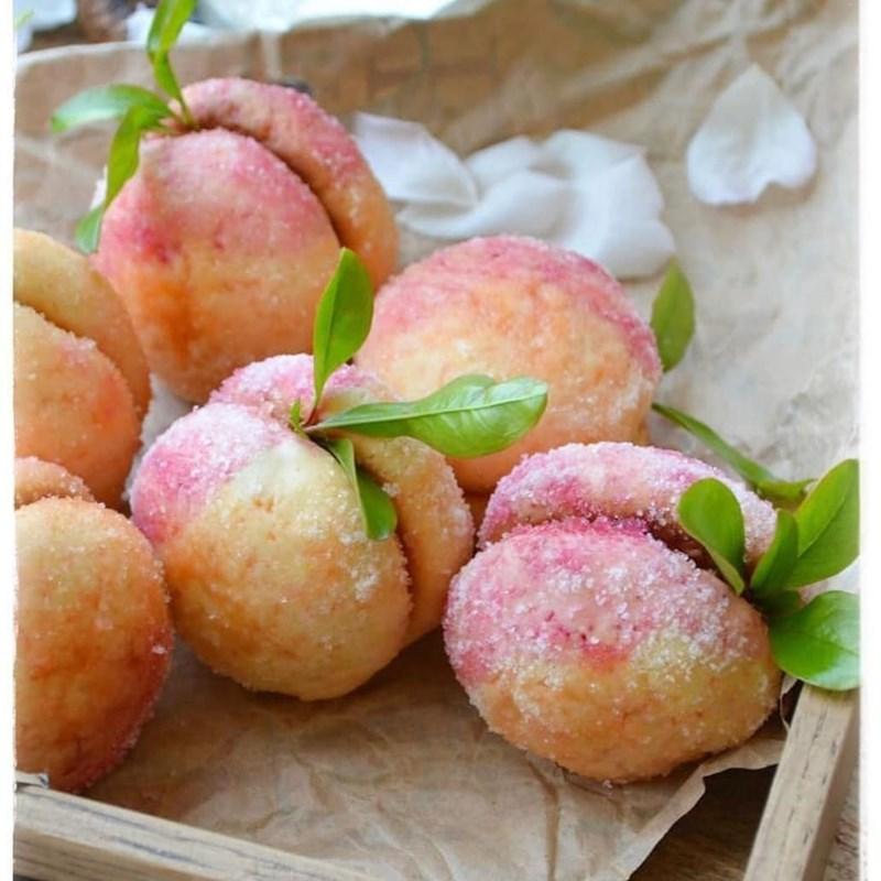 Peach-like cookies-4