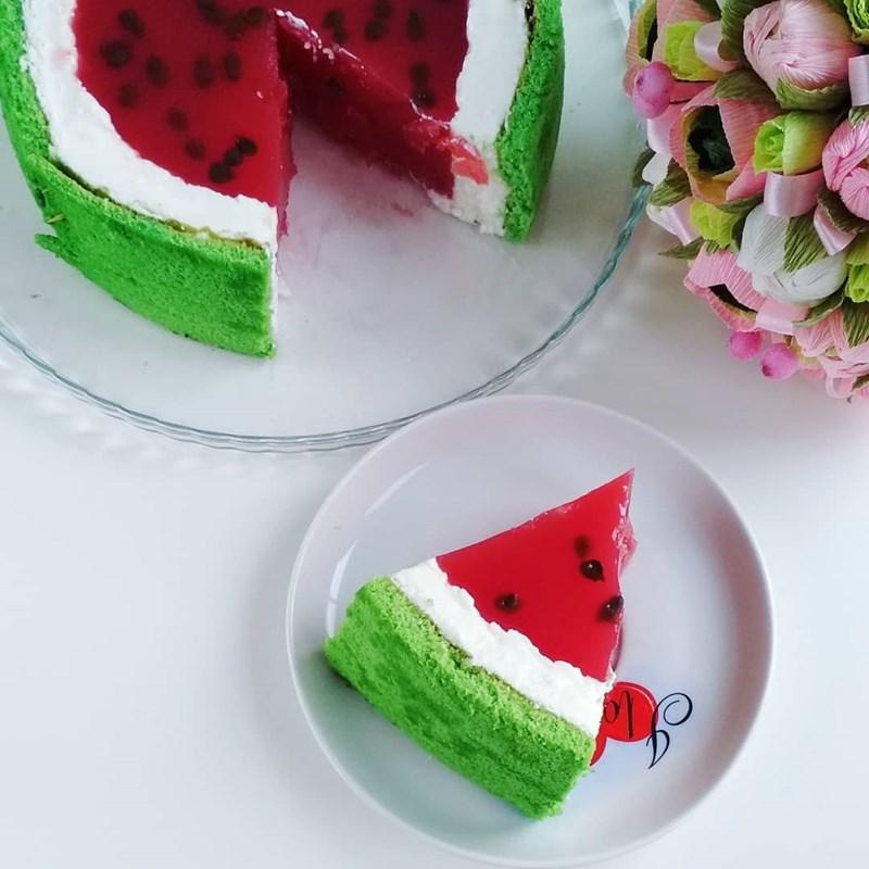 Summer Watermelon Cake-3