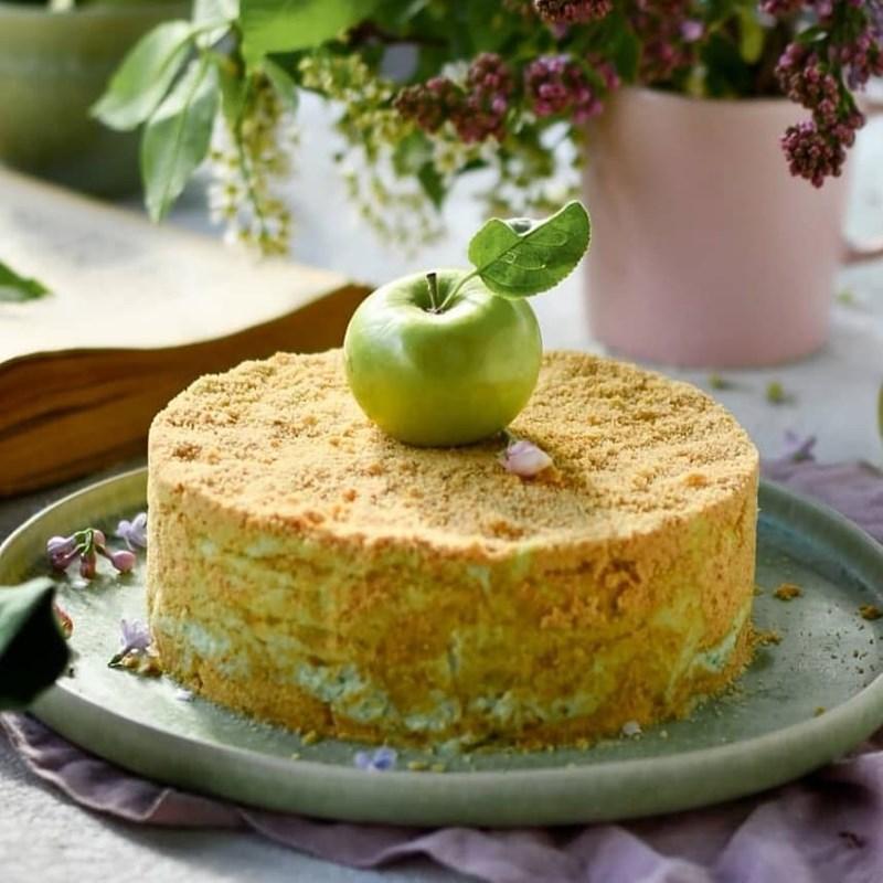 Apple freshness cake-2