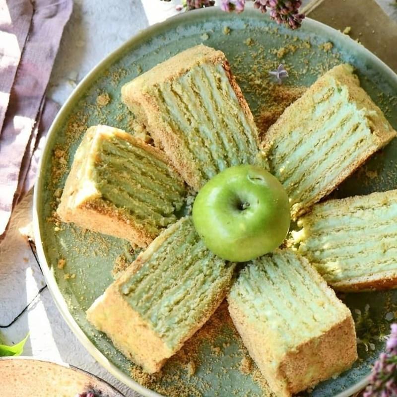 Apple freshness cake-5