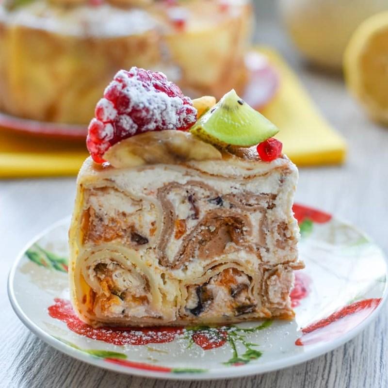 Pancake cake-2