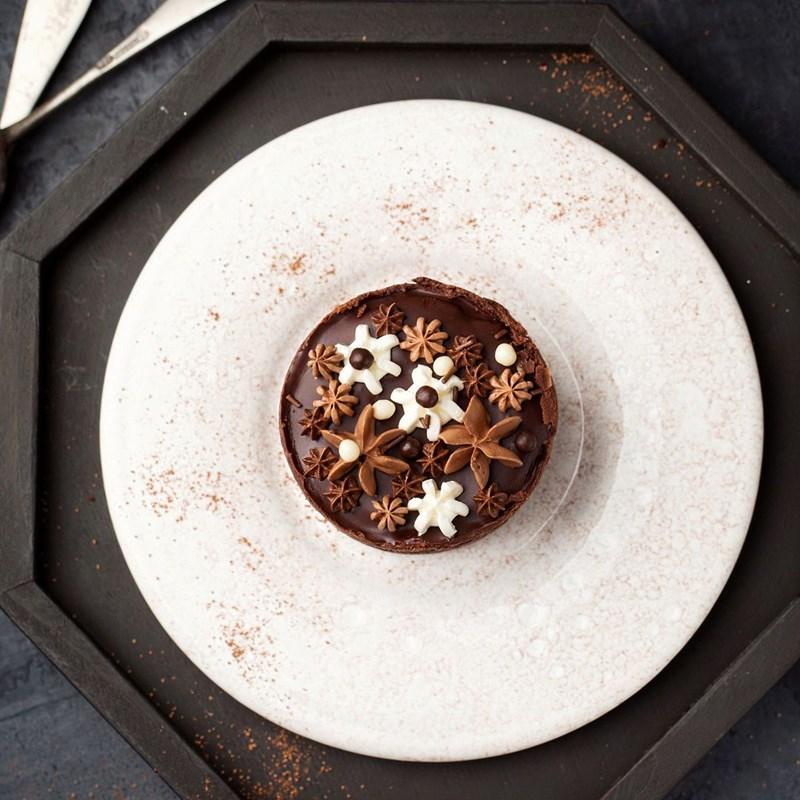 Chocolate cheesecake-4