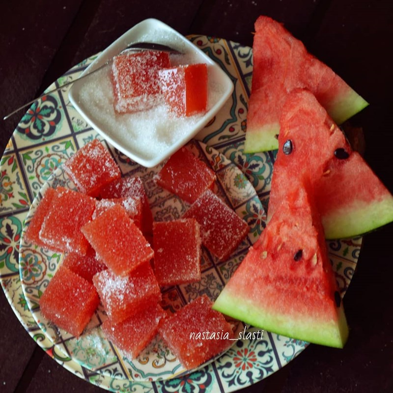 Watermelon jelly sweets-4