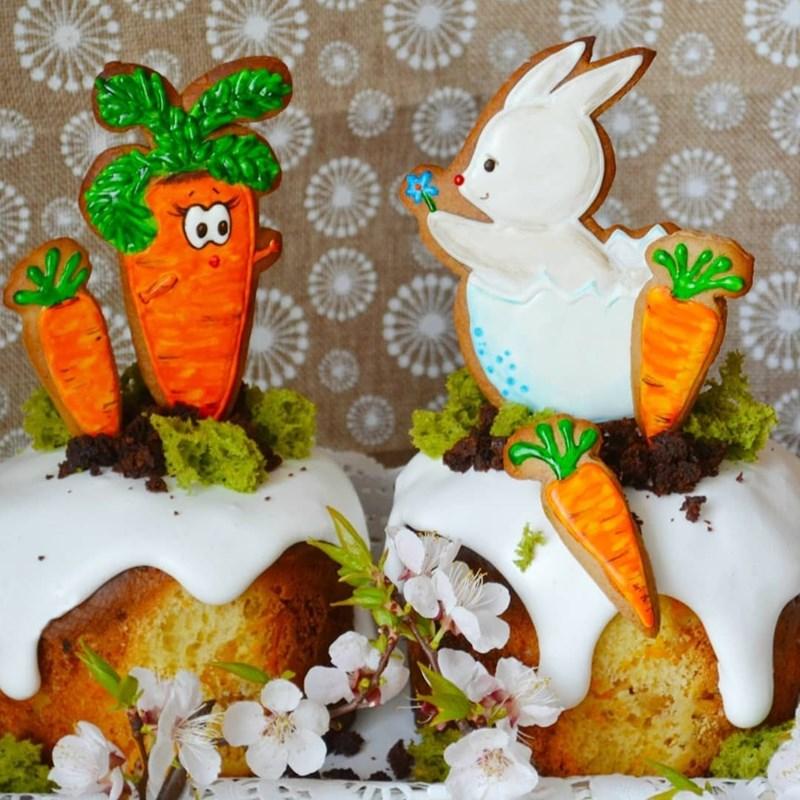 Carrot Easter cake-2