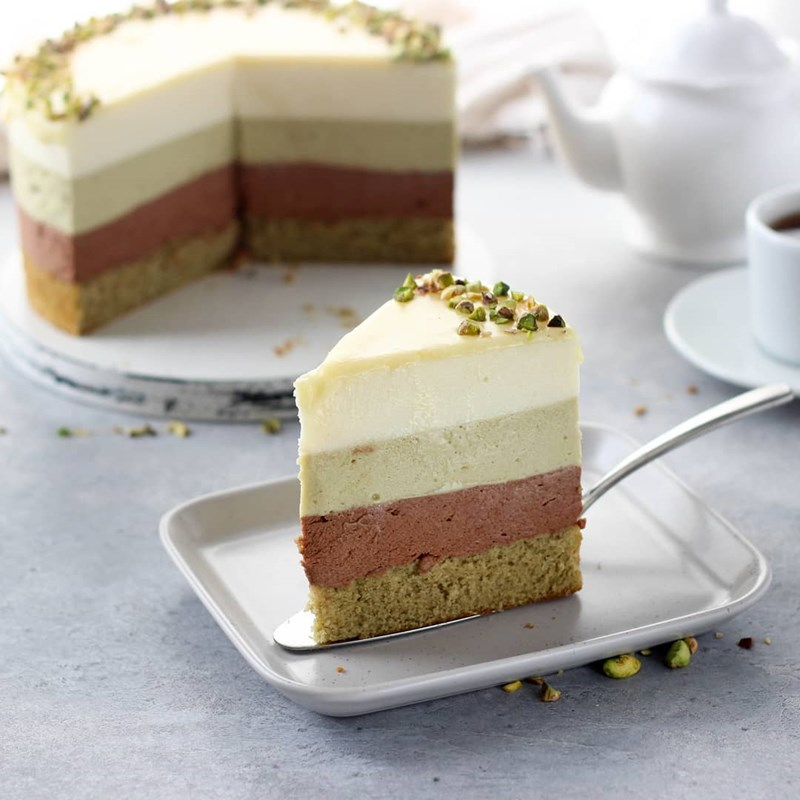 PISTACHIO & CHOCOLATE MOUSSE CAKE-2