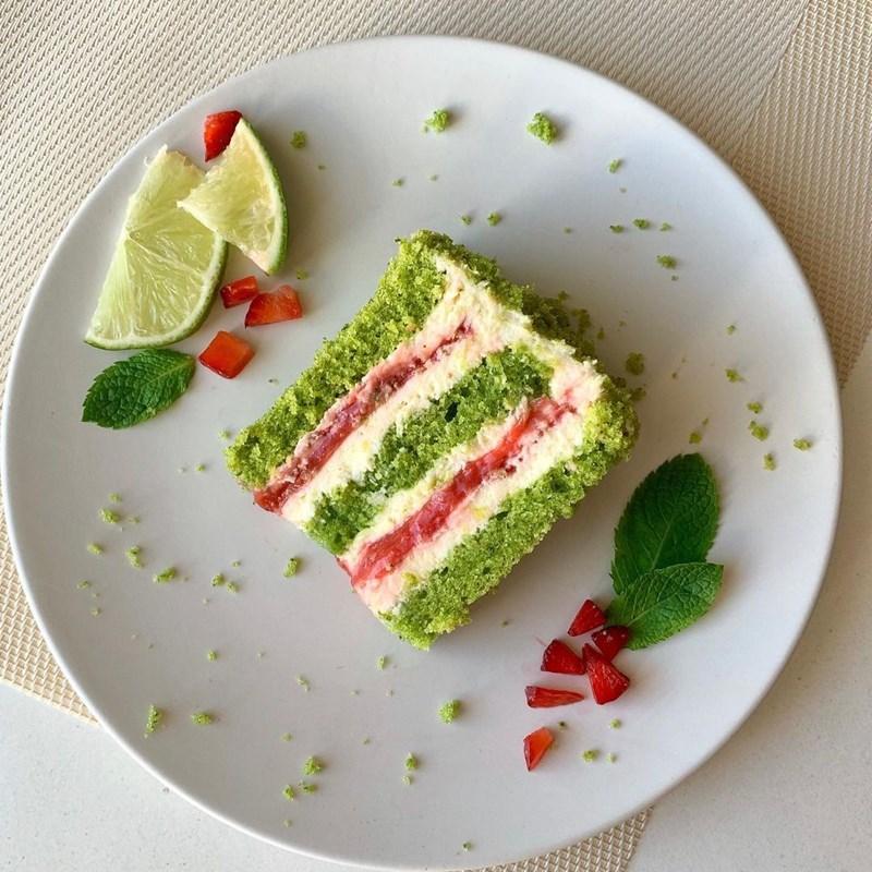 STRAWBERRY MOJITO CAKE-2